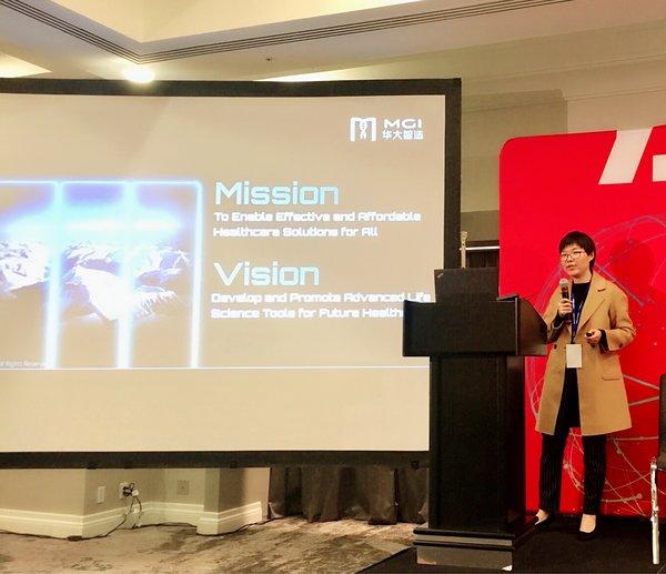華大智造首席運營官蔣慧博士在China Focus@JPM Week上演講